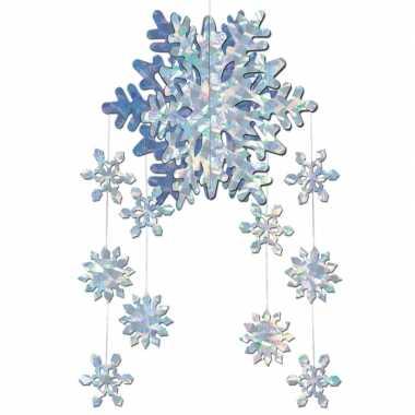 3d kerst sneeuwvlok hangdecoratie