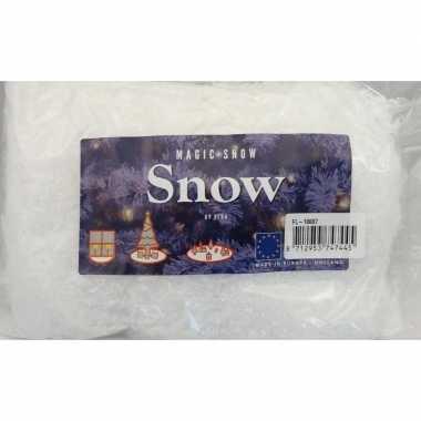 3x kunst kerst sneeuw vlokken 1 liter kerstdecoraties