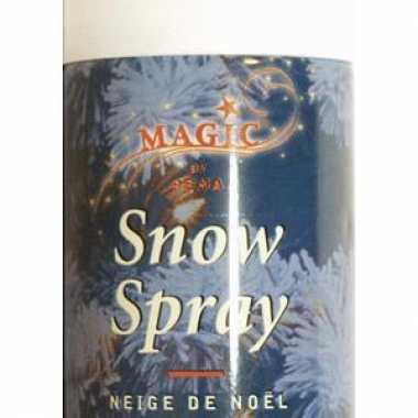 5 spuitbussen kerst sneeuwspray van 150 ml