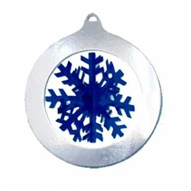Kerst sneeuwvlok decoratie 37 cm