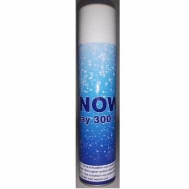 Kunstkerst sneeuw spray300 ml niet brandbaar