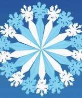 Decoratie kerst sneeuwvlok